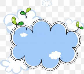 Seedlings Clouds Border - Cloud Euclidean Vector Clip Art PNG