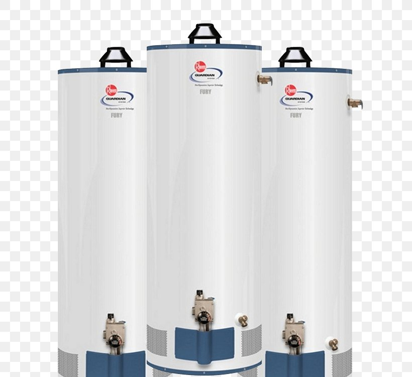 Rheem Hot Water Heater >> Tankless Water Heating Natural Gas Rheem Png 750x750px
