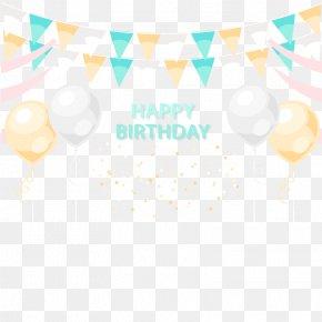 Vector Happy Birthday - Birthday Euclidean Vector PNG