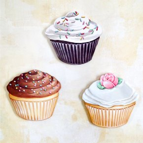 Cupcake - Cupcake Muffin Frosting & Icing Bakery Chocolate Brownie PNG