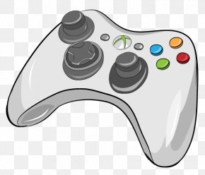 Controller - Black Xbox 360 Controller Xbox One Controller Game Controllers PNG