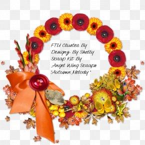 Mid-autumn Design Element - Floral Design Wreath Art Cut Flowers PNG
