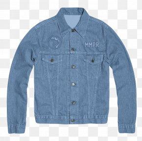 Jacket - Jacket Denim Textile Button Outerwear PNG