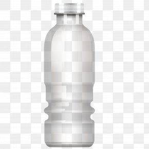 Vector Mineral Water Bottle - Bottled Water Mineral Water PNG
