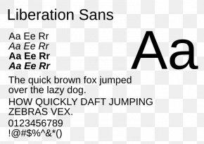 Tipografia - Liberation Fonts Typeface Monospaced Font TrueType Font PNG
