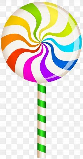 Multicolor Swirl Lollipop Clip Art Image - Lollipop Candy Confectionery Clip Art PNG