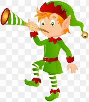 Elf Transparent Image - Santa Claus Christmas Tree Christmas Elf Clip Art PNG