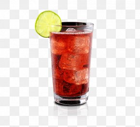 Alcoholic Drink - Cocktail Garnish Punch Brandy Sea Breeze PNG