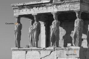 Column - Erechtheion Acropolis Of Athens Temple Poseidon Caryatid PNG