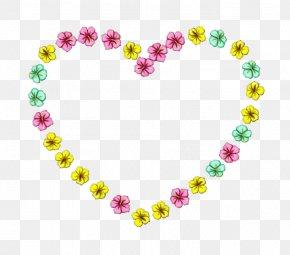Lei Jewelry Making - Heart Body Jewelry Yellow Fashion Accessory Jewellery PNG