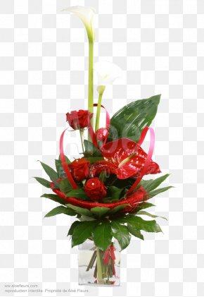 Vase - Garden Roses Floral Design Cut Flowers Flower Bouquet Ikebana PNG
