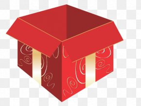 Box - Box Gift Rectangle Deliver Christmas Day Presents PNG