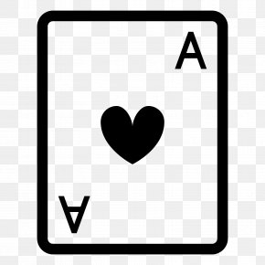 Ace Of Heart - Ace Of Spades Playing Card As De Trèfle PNG