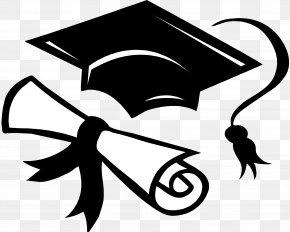 Cap - Square Academic Cap Graduation Ceremony Academic Dress Gown Clip Art PNG