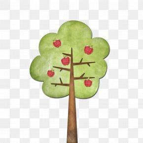 Cartoon Apple Tree - Apple Cartoon PNG