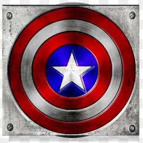 Captain America Shield - Captain America And The Avengers United States Icon PNG