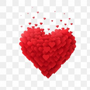 Love - Heart Valentine's Day Clip Art PNG