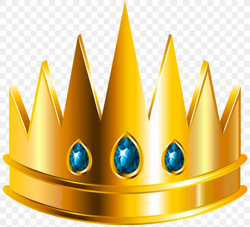 Crown Icon Clip Art, PNG, 8000x7287px, Youtube, Blog, Depositphotos, Yellow Download Free