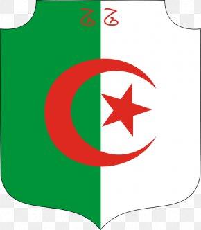 Algeria Flag - French Algeria Emblem Of Algeria Coat Of Arms Flag Of Algeria PNG