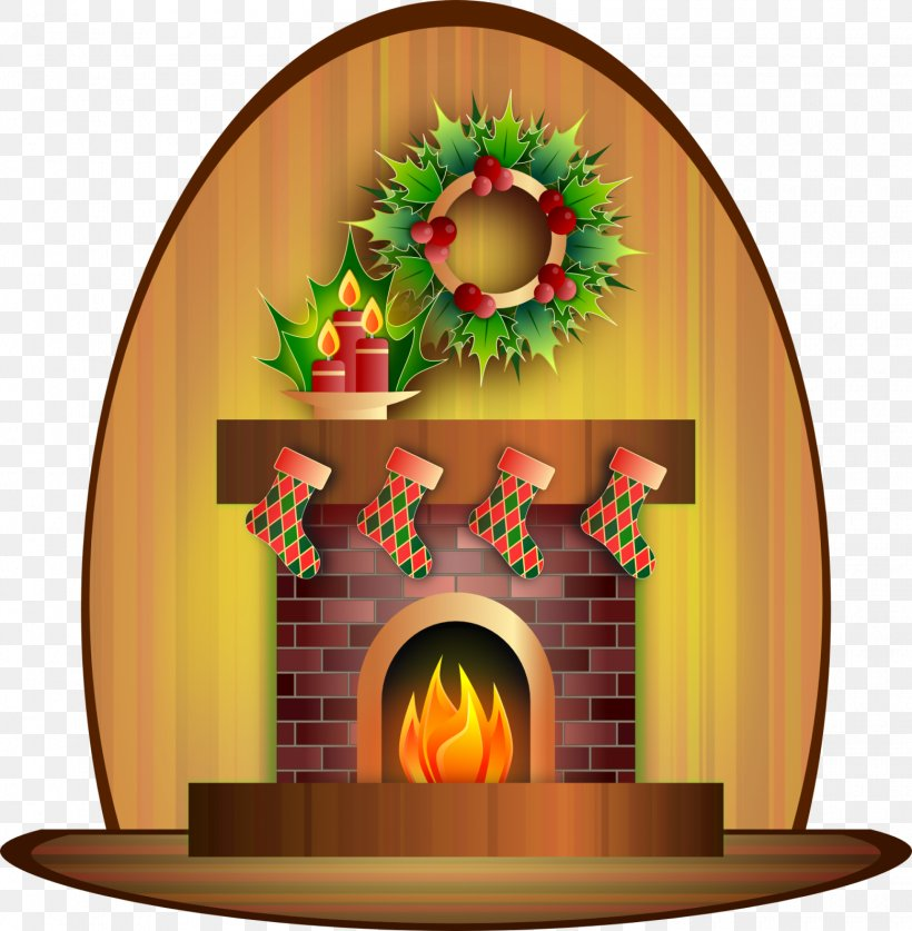 Santa Claus Candle Fireplace Christmas Day Clip Art, PNG, 1560x1594px, Santa Claus, Arch, Architecture, Art, Candle Download Free