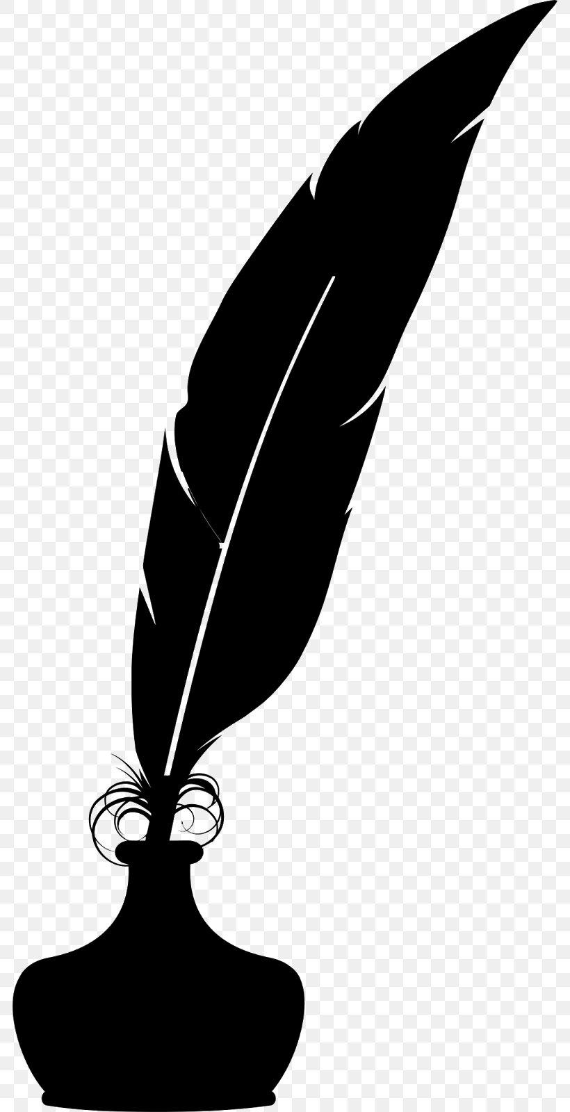 White Quill Clip Art