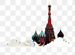 Baiyun Russian Architecture - Saint Basils Cathedral Red Square Russian Architecture If(we) PNG