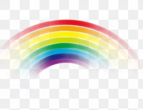 Rainbow - Text Graphic Design Font PNG