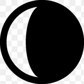 Crescent - Astrology Pictures Lunar Phase Crescent PNG