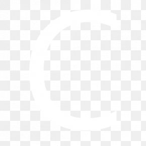 Letter C - Black And White Point Angle Pattern PNG
