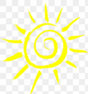 Yellow Sunlight - Smiley Clip Art PNG