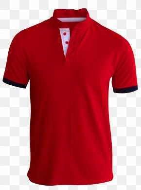 Red T Shirt - T-shirt Polo Shirt Sleeve PNG