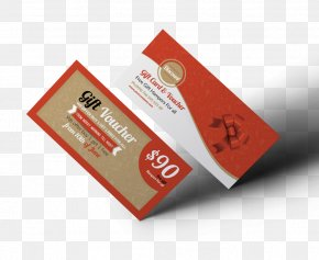 Group Discount - Gift Card Voucher Business Cards PNG