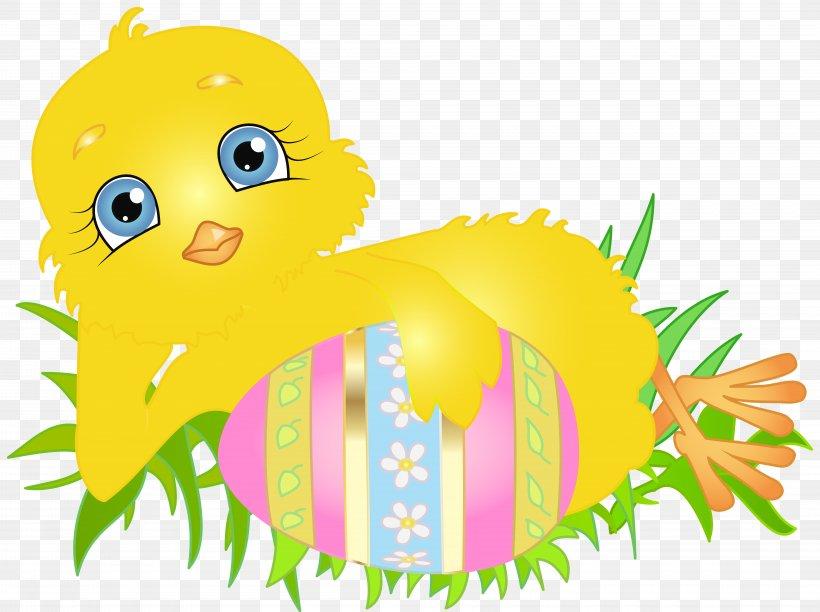 Easter Bunny Chicken Clip Art, PNG, 8000x5974px, Easter Bunny, Art, Beak, Bird, Cartoon Download Free