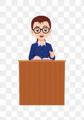 Teacher - Teacher Character PNG