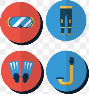 Swimming Tools Design - Sticker Swimming Wheel Material Clip Art PNG