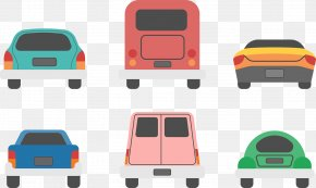 Cute Color Car Vector - Car Boot Sale Euclidean Vector PNG