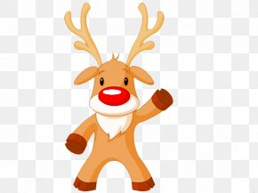 Santa Claus - Rudolph Santa Claus Reindeer Christmas Tree PNG