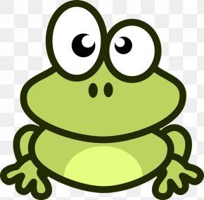 Amphibian Frog Prince - Frog Cartoon Clip Art PNG
