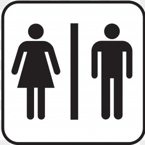 Pictures Of Restrooms - Bathroom Unisex Public Toilet Signage PNG