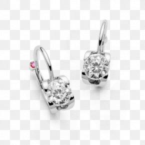 Jewellery - Earring Jewellery Gemstone Silver PNG
