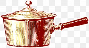 Hand-painted Kitchen - Kitchen Utensil Cookware And Bakeware Crock Stock Pot PNG