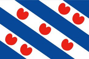 French Flag Clipart - Flag Of Friesland Provinces Of The Netherlands Frisian Languages PNG