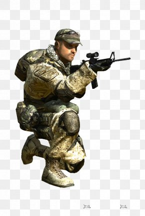 Soldier - Battlefield 2 Spec Ops: The Line Infantry Soldier Video Game PNG