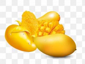 Golden Mango - Orange Juice Mango PNG