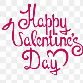 Happy Valentine's Day - Valentines Day Dia Dos Namorados Gift Holiday PNG