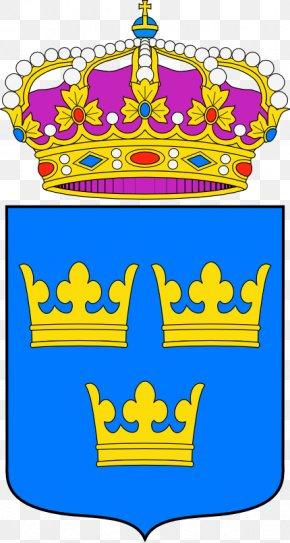Suecia - Heraldry Escutcheon Catalonia Coat Of Arms Of Sweden PNG