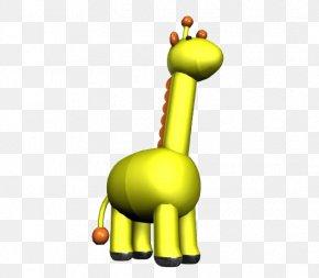 Yellow Giraffe - Northern Giraffe Download Clip Art PNG