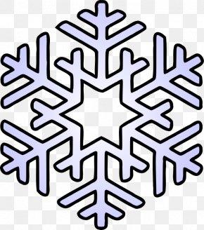 Flake Cliparts - Snowflake Coloring Book Page Mandala PNG