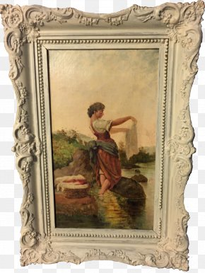 Antique - Antique Picture Frames Work Of Art Image PNG