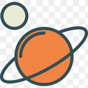 Saturn Galaxy - Cartoon Icon PNG